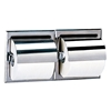 Bobrick Recessed Toilet Tissue Dispenserswith Hoods - B-699 Bobrick Recessed Toilet Tissue Dispensers - B-699