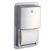 Bobrick Contura Series™ Recessed Multi-Roll Toilet Tissue Dispenser - B-4388 Bobrick Contura Series™ Recessed Multi-Roll Toilet Tissue Dispenser - B-4388