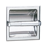Bobrick Recessed Toilet Tissue Dispenser - B-667 Bobrick Recessed Toilet Tissue Dispenser - B-667