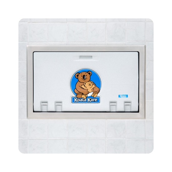 Bobrick Kb100 05st Recessed Baby Changing Station With