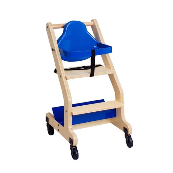 Bistro High Chair Hardwood By Koala Kb318 Kb318