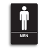 ADA Compliant Mens Restroom Sign