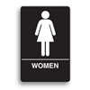ADA Compliant Womens Restroom Sign