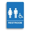 ADA Compliant Unisex Accessible Restroom Sign